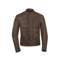 Men's Benjamin Jacket – Brown Leather