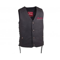 Men's Indian Motorcycle® Vest 2 - Black