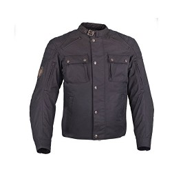 Men's Textile Benjamin Jacket - Black