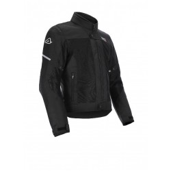 Men's Perforated Route Jacket -Gray